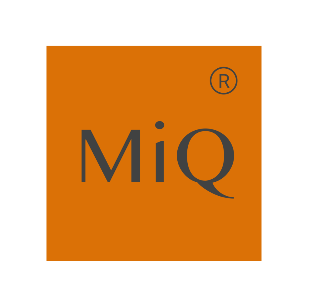 This image has an empty alt attribute; its file name is MiQ_orange_logo-1-1024x971.png